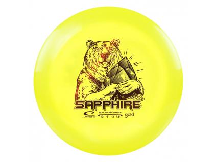 2588 sapphire gold line