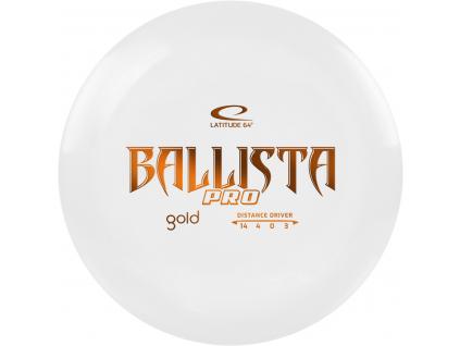 Gold Ballista Pro White
