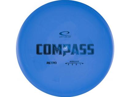 Retro Compass Blue 2020