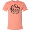 3722 tricko mountains cihlove cervene