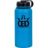 dynamic discs stainless steel water bottle blue