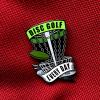 3845 odznak disc golf every day zeleny