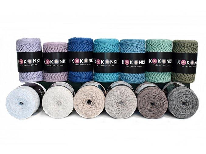 Sznurek Macrame Cotton rolka 200