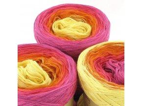 bobbel 435 LoLa Farbverlaufswolle Vier Jahreszeiten spring