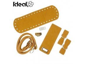 ideal set na kabelku hnedo zlta id40085