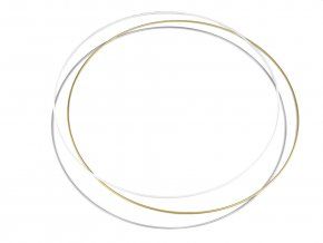 Kruhy na lapače snů - 60 cm