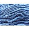 Cordino swan Black SW5 080 ledově modrá