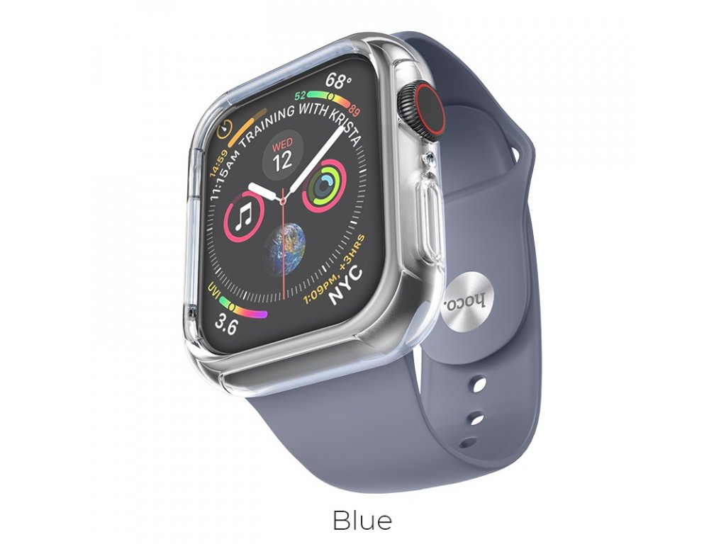 hoco wb09 ice crystal solid watchband for apple watch blue