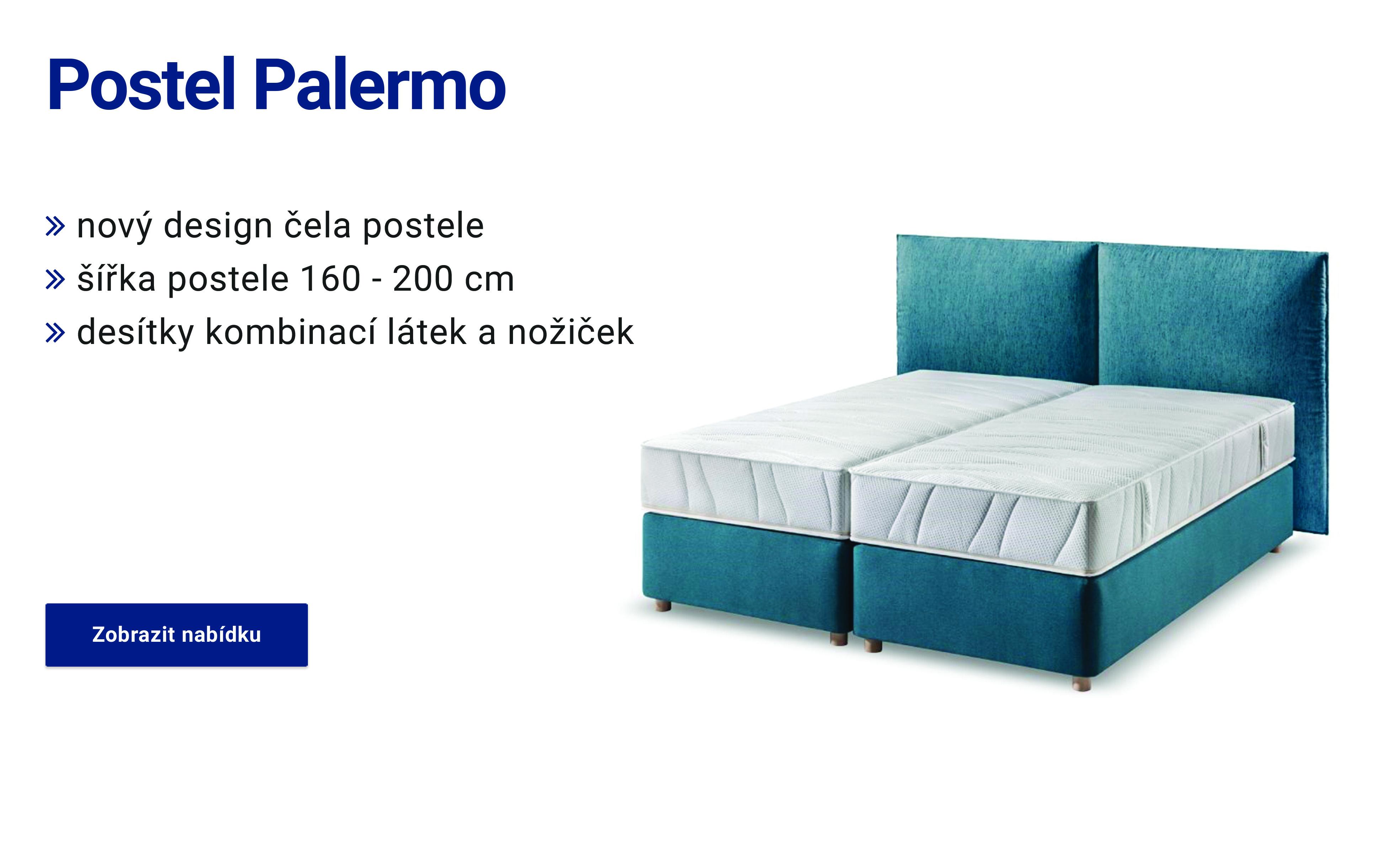 kontinentální postel Palermo