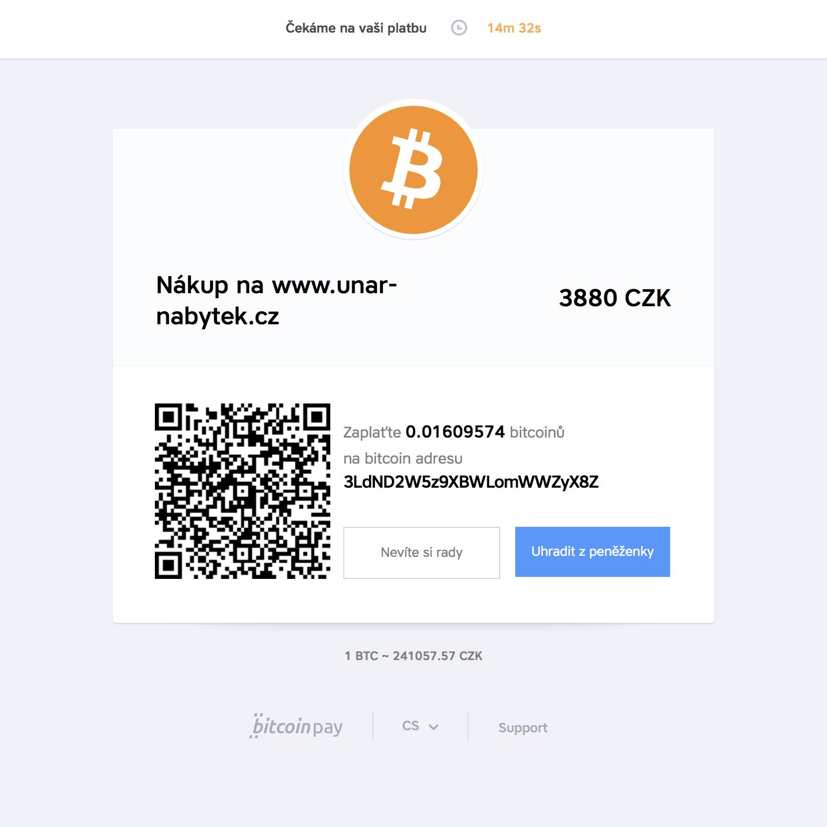 bitcoin_CZK