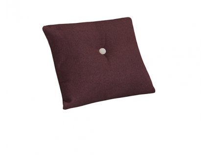 Dekorační polštář malý s knoflíkem 40x40cm