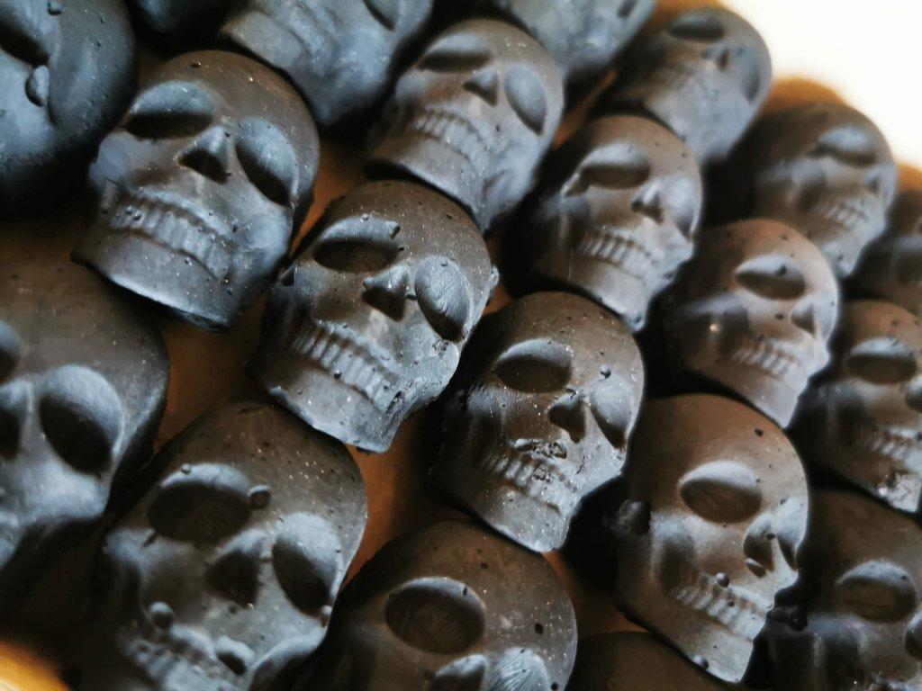 Uhlí skull