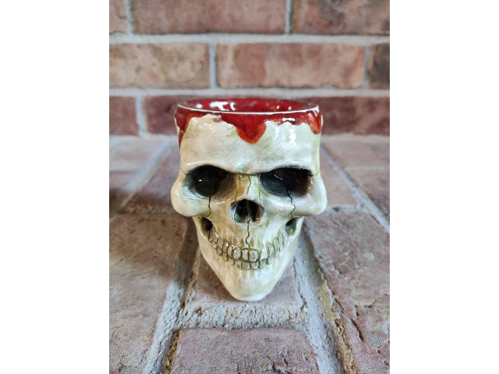 Glaze skull