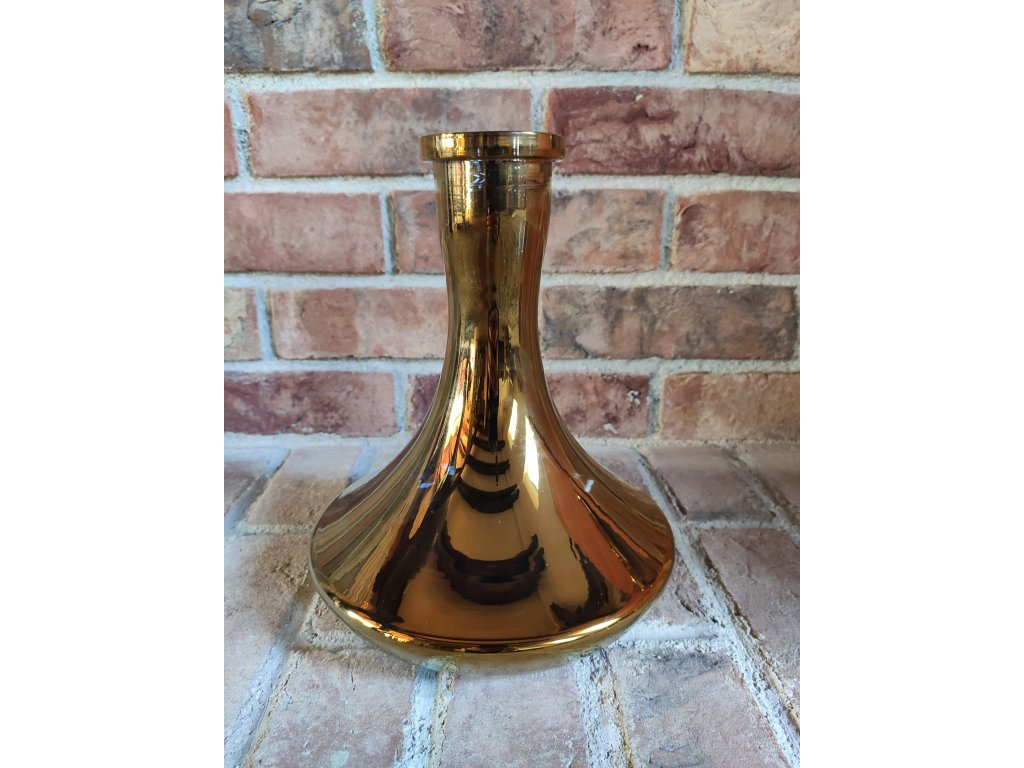 Váza Craft chameleon zlatá