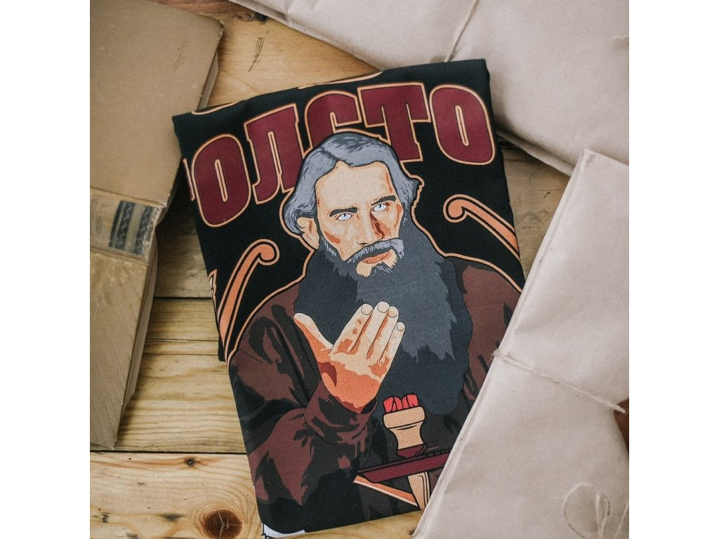 Tričko Tolstoj vel. L