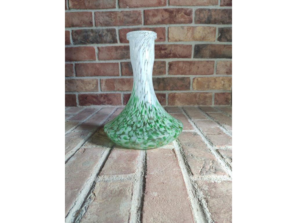 Váza Craft zeleno-bílá
