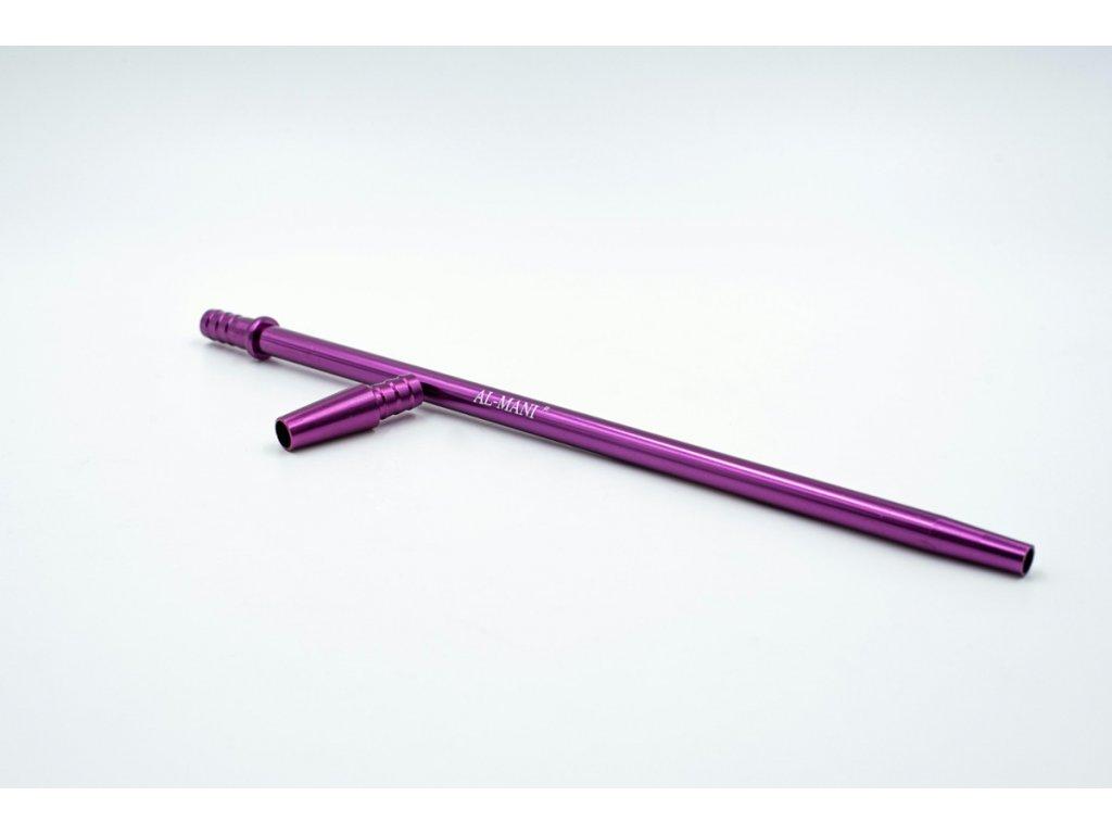mouthpiece al mani aluminium set slim lila