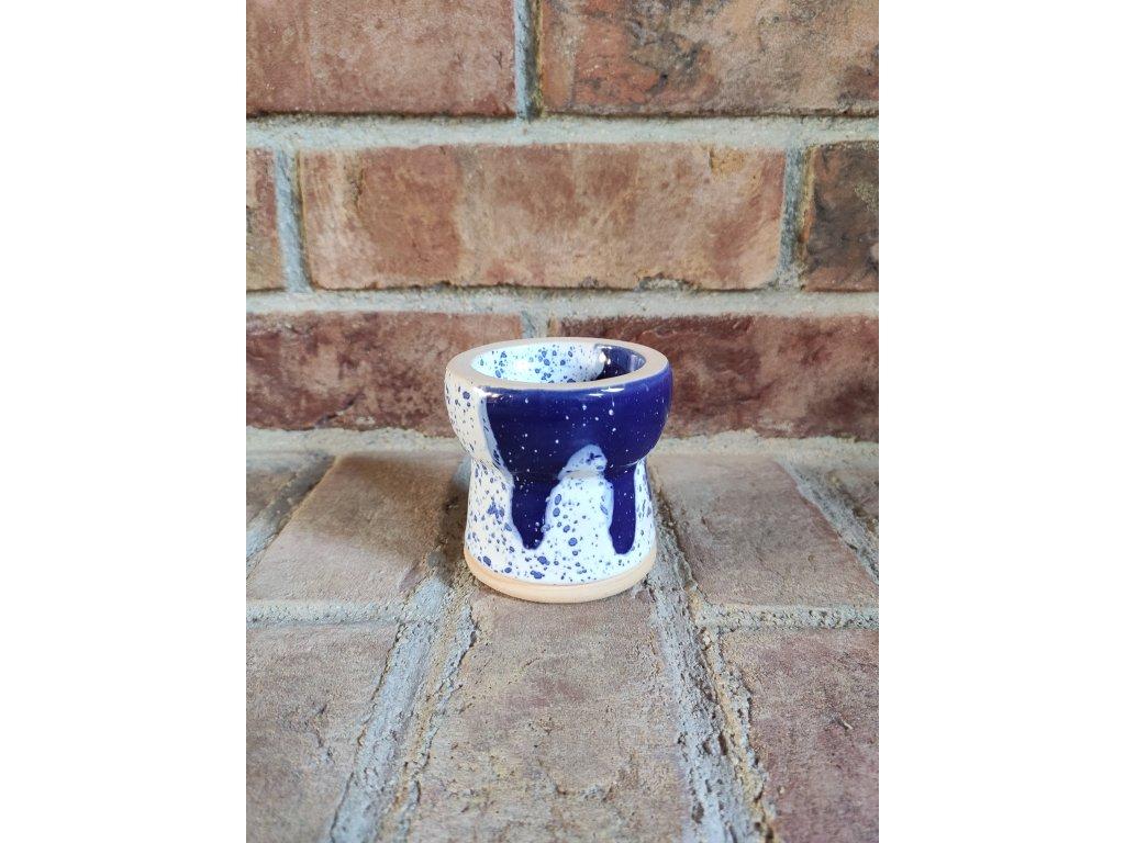 Gusto glaze turkish modro-bílá