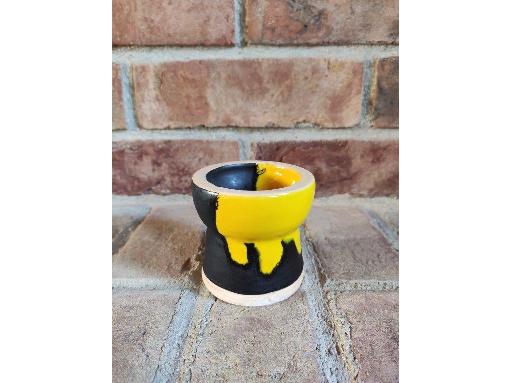 Gusto glaze turkish černo-žlutá