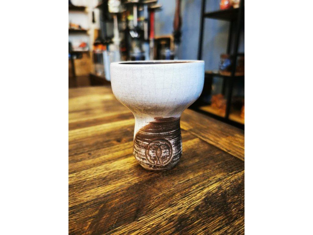 Karma bowl glazura white