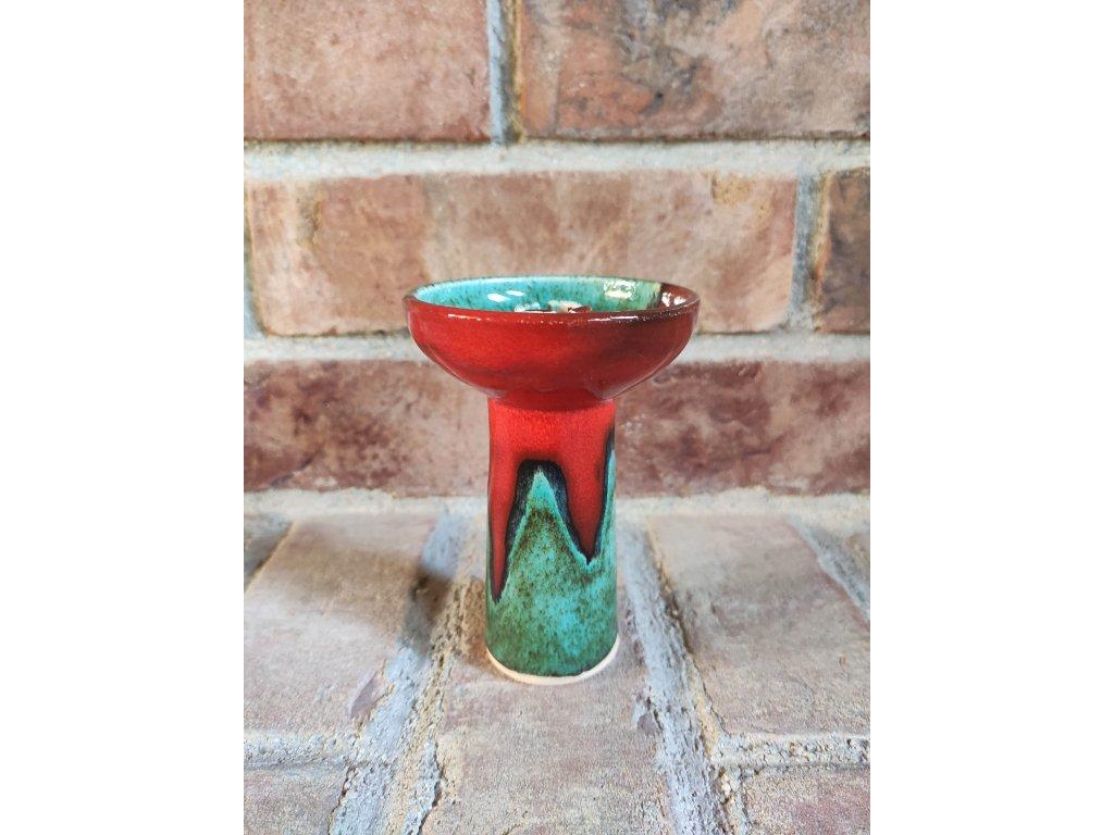 Gusto glaze classic zeleno-červená