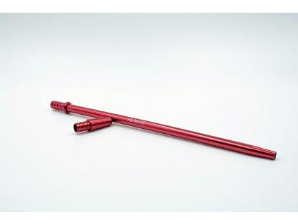 mouthpiece al mani aluminium set slim red