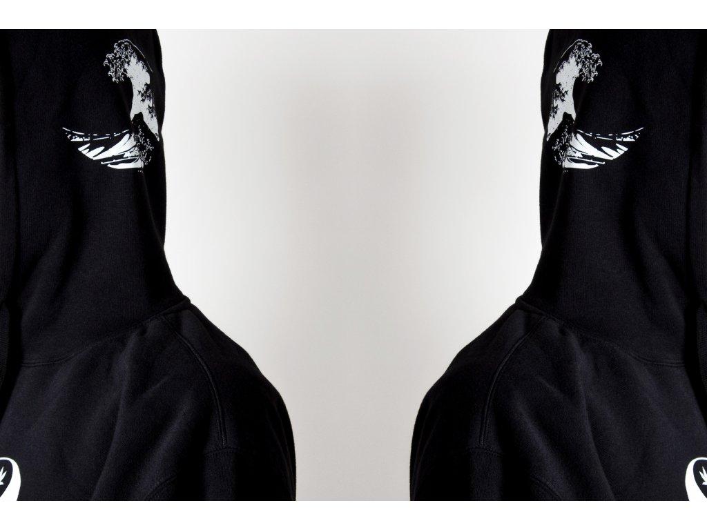 Taijitu waves hoodie B 2