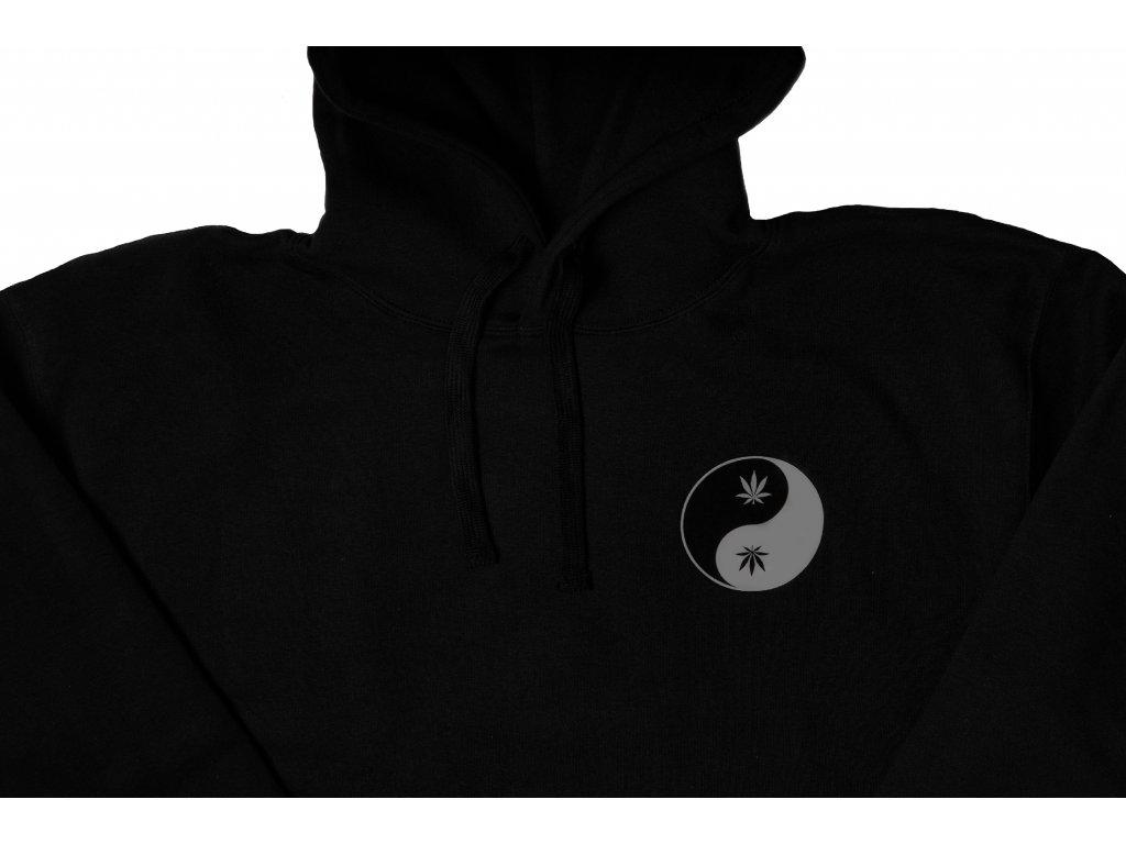 Taijitu Reflective hoodie