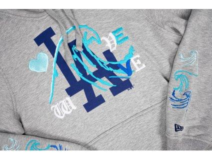 Love wave hoodie