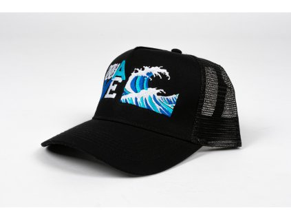 LETTERS WAVE TRUCKER CAP 1