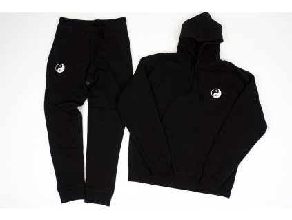 Taijitu patch sweatsuit