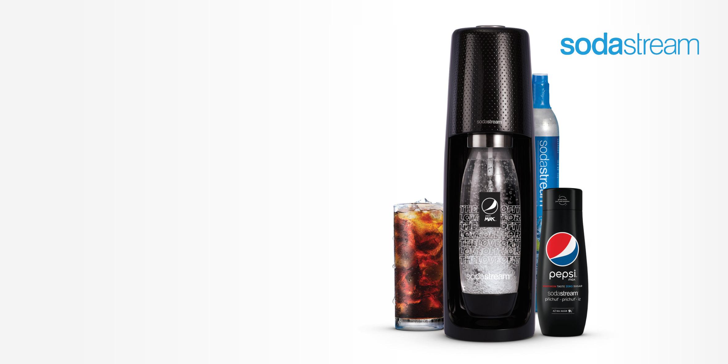 Sodastream výrobník SPIRIT PEPSI MegaPack