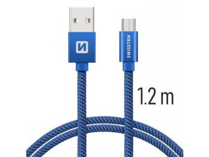 3821 kabel usb micro usb swissten textilni 1 2m