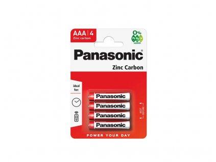 3851 baterie panasonic r03rz 4bp blistr 4 ks