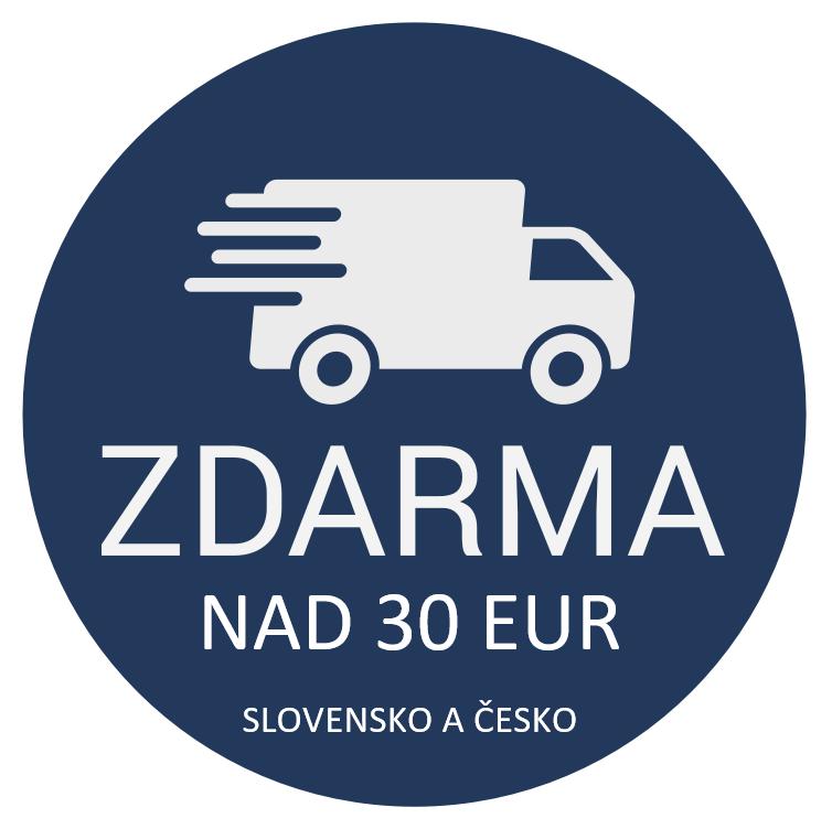 DOPRAVA ZDARMA NAD 30 EUR