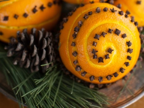 Pomaranč klinčeky
