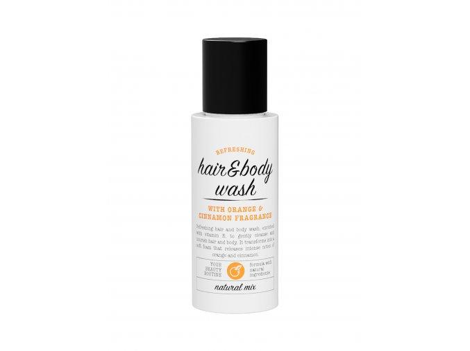 3 hair and body shampoo orange 30ml