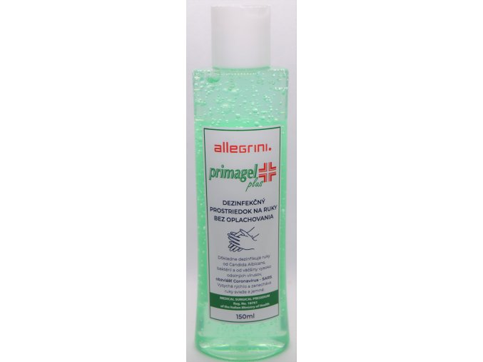 PRIMAGEL PLUS - gélová dezinfekcia na ruky 150ml