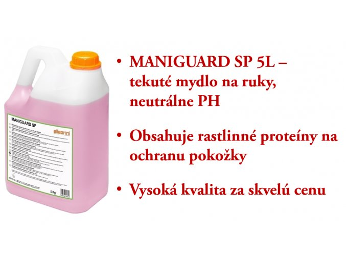 MANIGUARD SP 5L - tekuté mydlo na ruky s neutrálnym PH