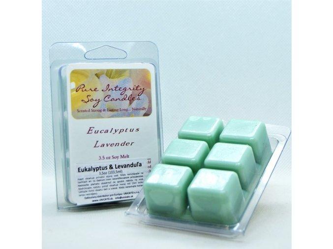 eukalyptus & levanduľa vosk