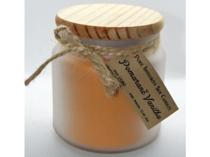 16oz pomaranč vanilka