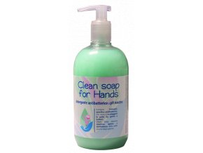 clean soap for hands