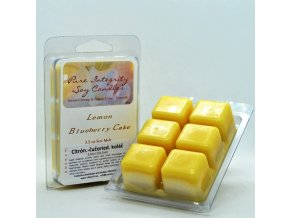 citrónovo čučoriedkový koláč vosk