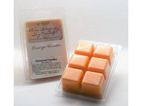 pomaranč vanilka vosk
