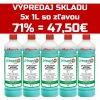 PRIMAGEL PLUS - gélová dezinfekcia na ruky 5L (1L x 5 kusov)