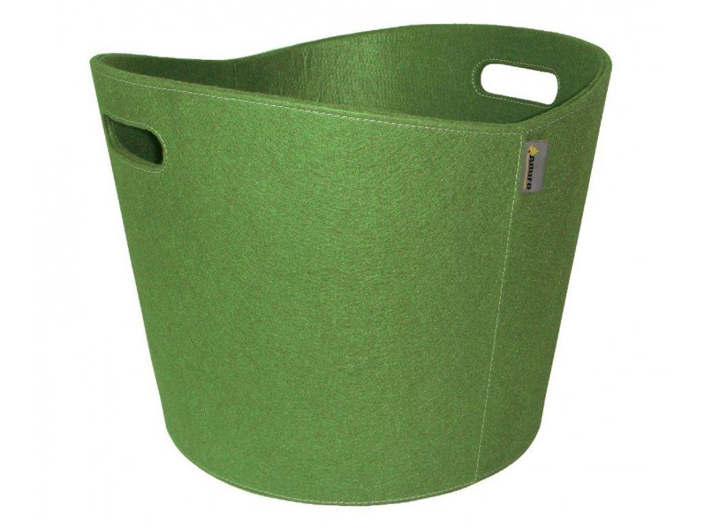 Koš na dřevo PROLINE 6 - zelená látka