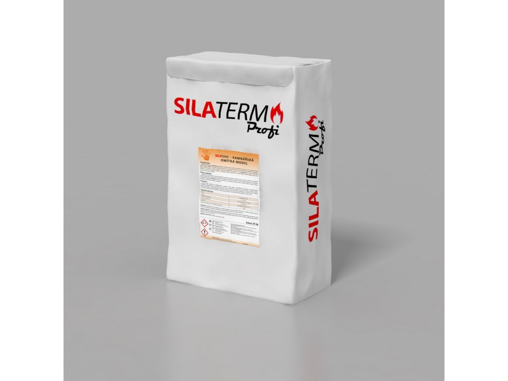 SILATERM kamnářská omítka MODEL 20 kg