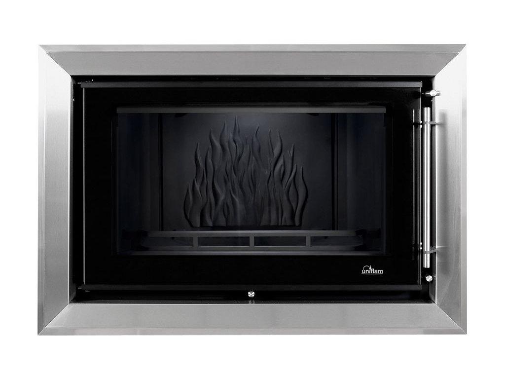 Dekorativní rám Uniflam 850 Prestige nerez