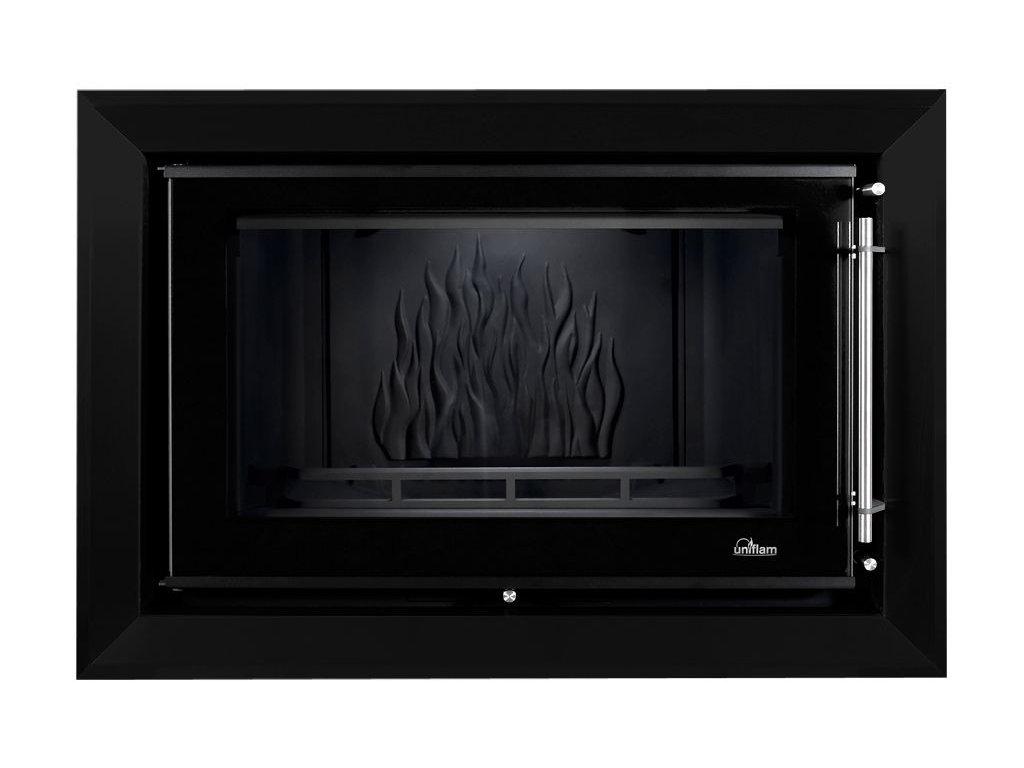 Dekorativní rám Uniflam 850 Prestige černý mat