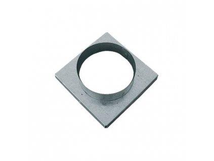 Redukce do mřížky 16x16cm 120mm (krby,kamna) (krby,kamna).